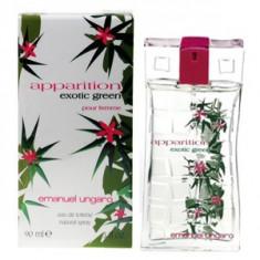 Emanuel Ungaro Apparition Exotic Green EDT 50 ml pentru femei - Parfum femeie Emanuel Ungaro, Apa de toaleta