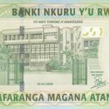 Bancnota Rwanda 500 Franci 2008 - P34 UNC