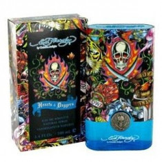 Christian Audigier Ed Hardy Hearts & Daggers EDT 100 ml pentru barbati - Parfum barbati Ed Hardy, Apa de toaleta