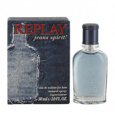 Replay Jeans Spirit! For Him EDT 30 ml pentru barbati - Parfum barbati Replay, Apa de toaleta