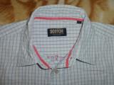 Camasa SCOTCH & SODA, model Eighty Five; marime L, vezi dimensiuni; 100% bumbac, Maneca lunga, Scotch & soda