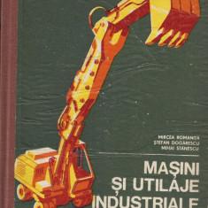 Masini si Utilaje Industriale 1977 Mircea Romanita, Stefan Dogarescu, Mihai Stanescu