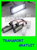 SET LAMPI SPECIALE VOLKSWAGEN VW GOLF 4, EOS, LUPO, POLO, PASSAT CC - LAMPA PLACUTA NUMAR INMATRICULARE - 18 LED LEDURI SMD - CULOARE ALB XENON 6000K