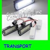 SET LAMPI SPECIALE VOLKSWAGEN VW GOLF 4, EOS, LUPO, POLO, PASSAT CC - LAMPA PLACUTA NUMAR INMATRICULARE - 18 LED LEDURI SMD - CULOARE ALB XENON 6000K - Led auto
