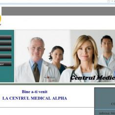 Site pentru evidenta programari si consultatii online intr-un centru medical - Solutii business