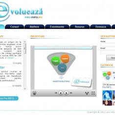Site de prezentare pe platforma Wordpress si personalizat in PHP/JQuery/CSS - Solutii business
