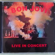 BON JOVI - Live In Concert - C D Original NOU