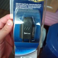 Incarcator USB universal PICCOLINO telefon mp3 player camere USB etc 5v 800ma, De priza