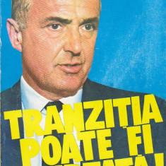 MARIUS POPESCU - TRANZITIA POATE FI SCURTATA DIMITRIE STURDZA - Roman, Anul publicarii: 1993