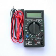 Multimetru digital, aparat de masura cu afisaj, voltmetru, ampermetru, ohmetru - Multimetre