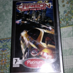Need For Speed Carbon - psp - Jocuri PSP Electronic Arts, Curse auto-moto, 12+, Single player