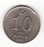 Turcia 10 yeni kurus 2005