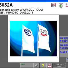 VAS 5054A, versiunea V19, baza de date oct. 2012 - Tester diagnoza auto