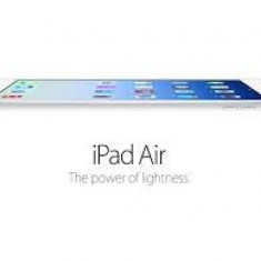SIGILAT Apple iPad Air Wi-Fi, 16GB - Tableta iPad Air Apple, Argintiu