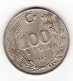 Turcia 100 lire 1987, Europa