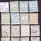 ROMANIA 2b3 - 1915 TAXA DE PLATA ++ SUPRATIPAR TIMBRUL AVIATIEI - Timbre Romania