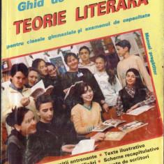 GHID DE TEORIE LITERARA PT CLASELE GIMNAZIALE SI EXAMENUL DE CAPACITATE de MONA COTOFAN
