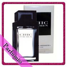 Parfum Carolina Herrera Chic masculin, apa de toaleta 100ml - Parfum barbati