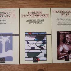 3 CARTI POEZIE, BILINGVE: G.BACOVIA / G. DROOGENBROODT / R.M. RILKE - Carte poezie