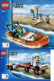 LEGO 7726 Coast Guard Truck (Camionul pazei de coasta)