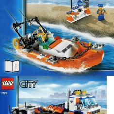 LEGO 7726 Coast Guard Truck (Camionul pazei de coasta) - LEGO City