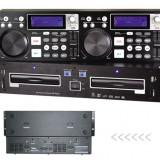 CONSOLA PROFESIONALA MIXAJ OMT CDJ-6600 Dual DJ CD player cu USB/SD/MP3 slots.SIGILATA.