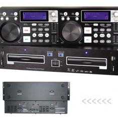 CONSOLA PROFESIONALA MIXAJ OMT CDJ-6600 Dual DJ cu USB/SD/MP3 slots.SIGILATA.NOU