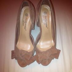 Pantofi dama Super Pret!!! - Pantof dama Lucky Brand, Marime: 36, Cu toc