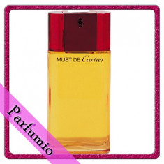 Parfum Cartier Must feminin, apa de toaleta 100ml