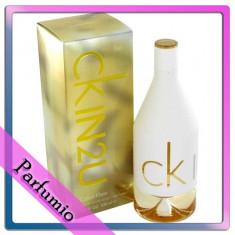 Parfum Calvin Klein In2U feminin, apa de toaleta 150ml - Parfum femeie