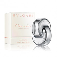 Bvlgari Omnia Crystalline, apa de toaleta 65ml. ShoppingList - Vanzator Premium pe Okazii din 2011! Plata in 3 rate fara dobanda prin Card Avantaj! - Parfum femeie