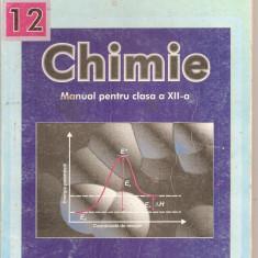 (C4327) CHIMIE, MANUAL PENTRU CLASA A XII-A DE SANDA FATU, CORNELIA COSTIN SI ADINA TOESCU, editura EDP, 2000 - Manual scolar, Clasa 12