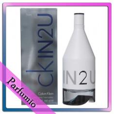 Parfum Calvin Klein In2U masculin, apa de toaleta 150ml - Parfum barbati
