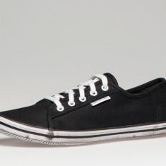 Adidasi / Tenisi Unisex - Calvin Klein Jeans Finley negri, marimea 39. Produs nou si original - Tenisi dama