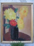 Vaza cu dalii