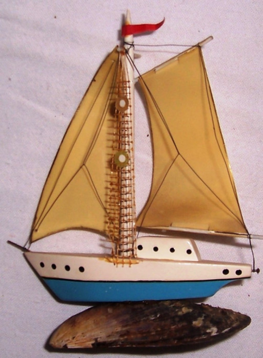 VAPORAS - executat manual, vintage, anii 1950