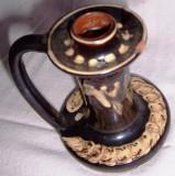 SFESNIC din ceramica smaltuita pictata manual
