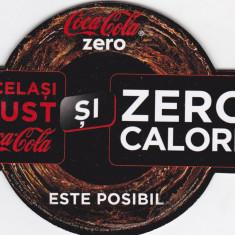 Suport de pahar / Biscuite COCA COLA ZERO