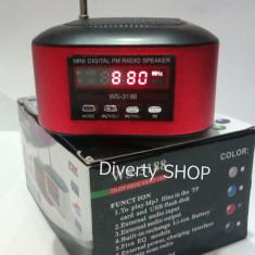 BOXA MP3 MINI SPEAKER CU ACUMULATOR NOKIA BL - 5C  RADIO FM SLOT USB SI MICRO SD , AFISAJ LCD ! PRODUS NOU !!