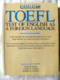 TOEFL. TEST OF ENGLISH AS A FOREIGN LANGUAGE, Ed.IV, 1987