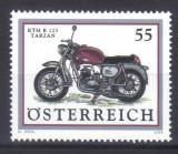 AUSTRIA 2006, Motocicleta, serie neuzata, MNH, Transporturi