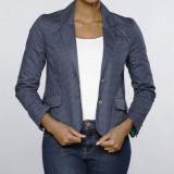 Sacou US Polo Assn - Dama / Femei - 100% original, Bleumarin, Bumbac, M, US Polo Assn