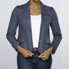 Sacou US Polo Assn - Dama / Femei - 100% original - Sacou dama US Polo Assn, Marime: M, Culoare: Bleumarin, Bumbac