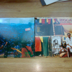 REGGAE SUNSPLASH `81 - A TRIBUTE TO BOB MARLEY (Compilatie THE WAILERS STEEL PULSE etc.) (2LP, 2 Viniluri, 1982, ELEKTRA/WEA, Made in GERMANY) - Muzica Reggae