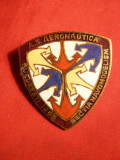 Insigna AS Aeronautica sectia Navomodelism, Romania de la 1950