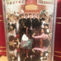 NSYNC - CELEBRITY (2001) -caseta originala/nou/sigilat - Muzica Pop emi records, Casete audio