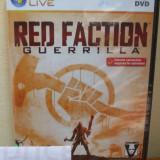 Red Faction: Guerrilla (PC DVD) SIGILAT!!! (ALVio) + sute de Jocuri PC Thq, Shooting, 16+, Multiplayer