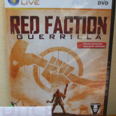 Red Faction: Guerrilla (PC DVD) SIGILAT!!! (ALVio) + sute de Jocuri PC Thq, Shooting, 16+, Multiplayer