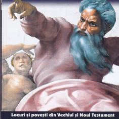 GIANNI GUADALUPI - MITURI BIBLICE LOCURI SI POVESTI DIN VECHIUL SI NOUL TESTAMENT IN PESTE 300 DE REPREZENTARI ARTISTICE ( 5 VOL ) - Carti Crestinism