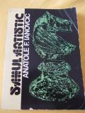 SAHUL ARTISTIC -  ANATOLE F.IANOVCIC, Alta editura
